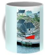 Fishing Village Coffee Mug