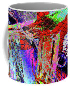 Fishnet Fantasy, A Collage Between Maine And Florida. Coffee Mug
