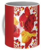 Five Autumn Leaves Coffee Mug