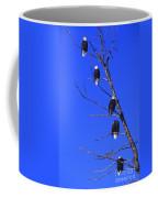 Five Bald Eagles Coffee Mug
