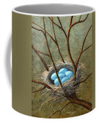 Five Blue Eggs Coffee Mug