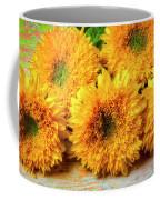 Five Exotic Sunflowers Coffee Mug