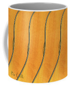 Five Fender Guitars Coffee Mug
