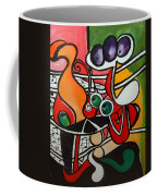 Five O' Clock With Picasso Coffee Mug