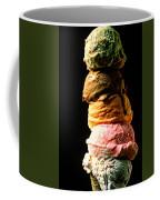 Five Scoops Of Ice Cream Coffee Mug