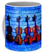 Five Violins Coffee Mug