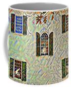 Five Windows Watercolor Coffee Mug