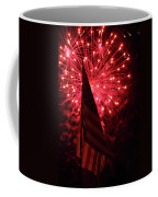 Flag And Fireworks Coffee Mug