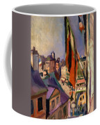 Flag Decorated Street 1906 Coffee Mug