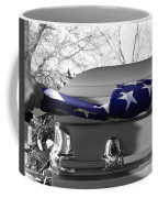 Flag For The Fallen - Selective Color Coffee Mug