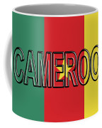 Flag Of Cameroon Word. Coffee Mug