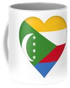 Flag Of  Comoros Heart Coffee Mug