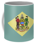 Flag Of Delaware Coffee Mug