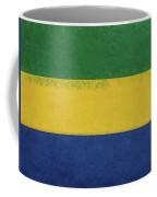 Flag Of Gabon Grunge. Coffee Mug