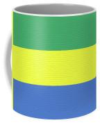 Flag Of Gabon Wall. Coffee Mug