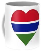 Flag Of Gambia Heart Coffee Mug