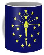 Flag Of Indiana Coffee Mug