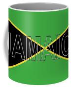 Flag Of Jamaica Word Coffee Mug