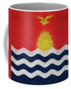 Flag Of Kiribati Texture Coffee Mug