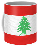 Flag Of Lebanon Wall Coffee Mug