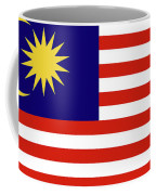 Flag Of Malaysia. Coffee Mug