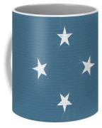 Flag Of Micronesia Wall Coffee Mug