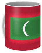 Flag Of The Maldives Wall. Coffee Mug