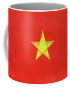 Flag Of Vietnam Grunge Coffee Mug
