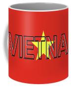 Flag Of Vietnam Word Coffee Mug