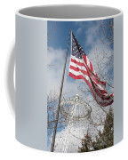 Flag Over Spokane Pavilion Coffee Mug