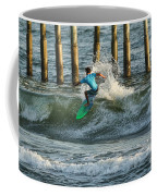 Flagler Beach Surf Day Coffee Mug