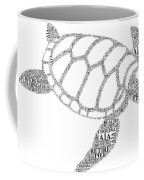 Flagler Beach Word Art Coffee Mug