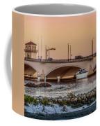 Flagler Bridge In The Evening IIi Coffee Mug