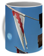 Flags At The Palace Of Governors Coffee Mug