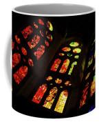 Flamboyant Stained Glass Window Coffee Mug