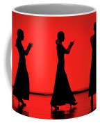 Flamenco Red An Black Spanish Passion For Dance And Rithm Coffee Mug