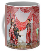 Flamenco Show Nr 4 Coffee Mug