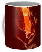 Flames In The Walls Of Antelope Coffee Mug