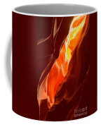Flames Under Arizona  Coffee Mug
