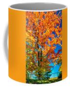 Flaming Maple - Paint Coffee Mug
