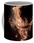 Flaming Pegasus Coffee Mug
