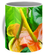 Flamingo Flower Coffee Mug
