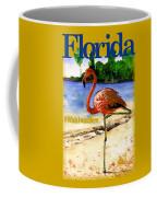 Flamingo In Florida Shirt Coffee Mug