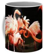 Flamingo Kisses Coffee Mug