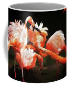 Flamingo Mingles Coffee Mug