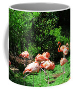 Flamingo Party Coffee Mug
