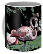 Flamingos I Coffee Mug