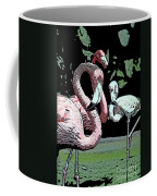 Flamingos II Coffee Mug
