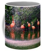Flamingos II Coffee Mug