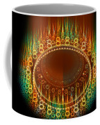 Flamy Round  Coffee Mug